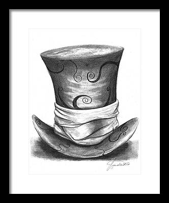 Mad Hatter Framed Prints