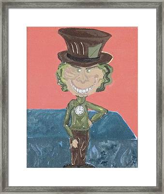 Mad Mad Mad Framed Print by Regina Jeffers
