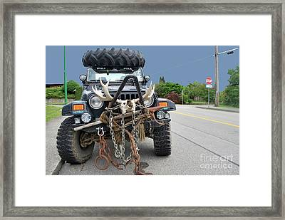 Framed Print featuring the photograph Mad Max by Bill Thomson