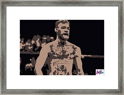 Mad Mcgregor Framed Print