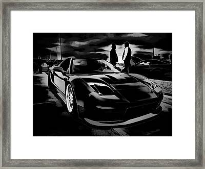 Mad Men - Mad Cars Framed Print by Douglas Pittman
