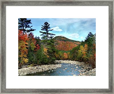 Mad River By Welch And Dickey  Framed Print