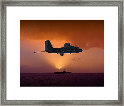 Mad Tracker Framed Print