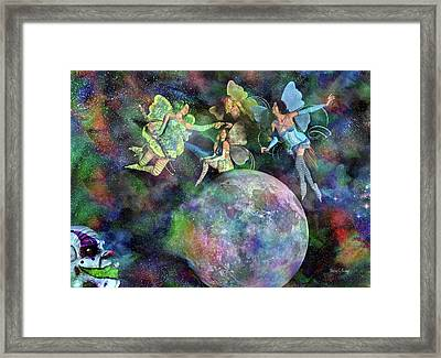 Mad Wicked Fun Framed Print by Betsy Knapp