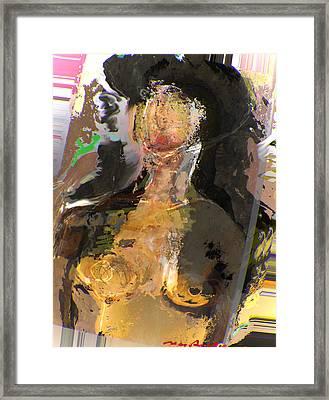 Madam Bouran Framed Print by Noredin Morgan