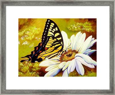 Madame Butterfly Framed Print by Karen Dukes
