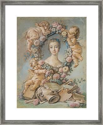 Madame De Pompadour Framed Print