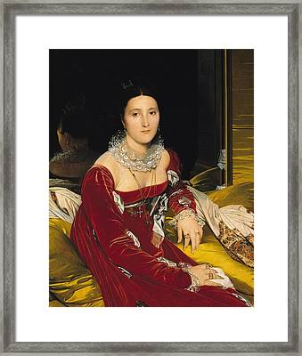 Madame De Senonnes Framed Print by Ingres