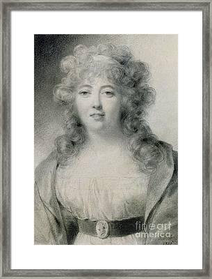 Madame De Stael  Framed Print