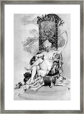 Madame Du Barry Aka Marie-jeanne Framed Print by Everett