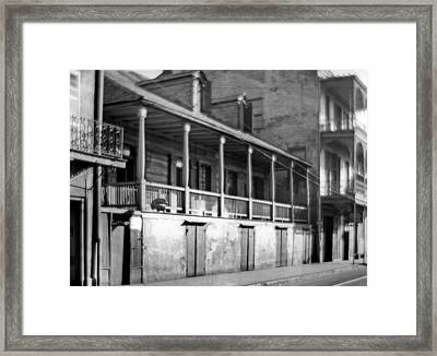 Madame John's Legacy Framed Print
