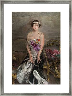 Madame Leclanche Framed Print