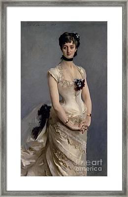 Madame Paul Poirson Framed Print