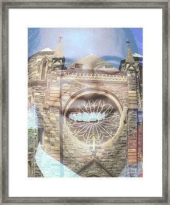 Going To Church Framed Print by Richard Carlton London