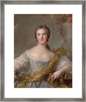 _madame Victoire De France Framed Print by Jean