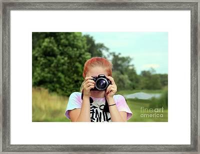 Maddie Ama Framed Print