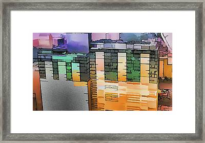 Framed Print featuring the digital art Made For Each Other by Wendy J St Christopher