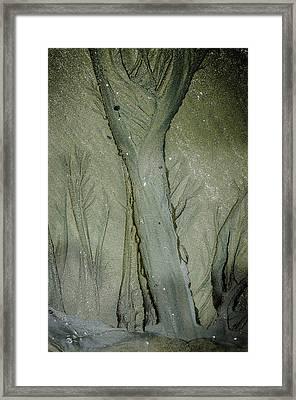 Made In Sand Framed Print
