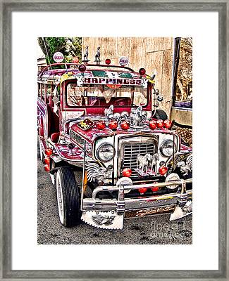 Made In The Philippines Framed Print by Jason Abando