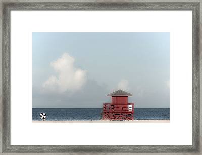 Made In The Shade Framed Print by Don Spenner