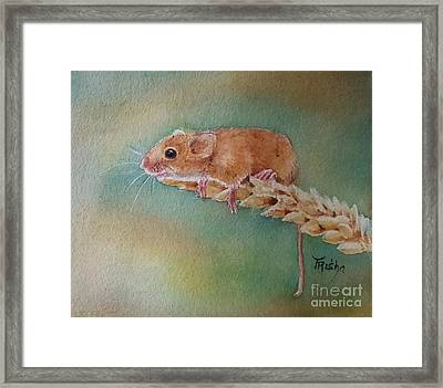 Made It Framed Print by Patricia Pushaw
