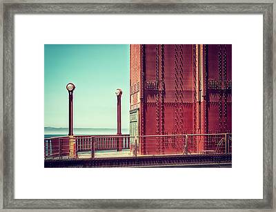Made Of Steel Framed Print