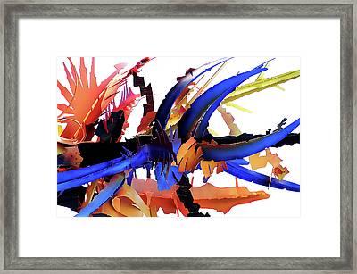 Made Of Steel Framed Print