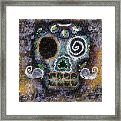 Made Of Sugar Framed Print by  Abril Andrade Griffith
