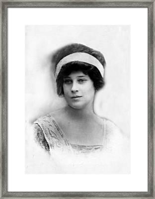 Madeleine Astor 1893-1940, Wife Of John Framed Print