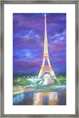 Madelein's France Framed Print