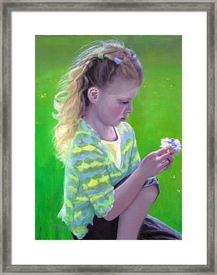Madeline Framed Print by Laurel Ellis