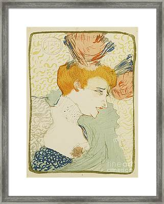 Mademoiselle Marcelle Lender Framed Print by MotionAge Designs
