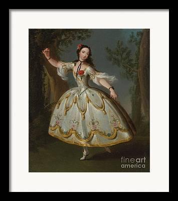 Eva Marie Paintings Framed Prints