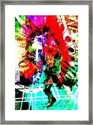 Madi Gras Framed Print by Brian Roscorla