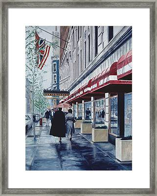 Madison Avenue Framed Print by Anthony Butera