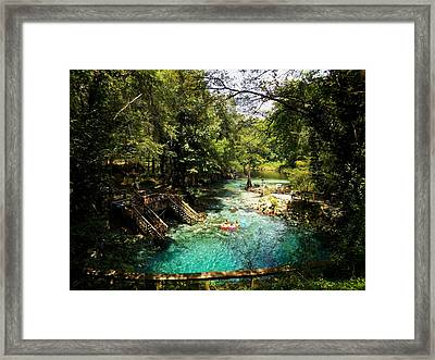 Madison From The High Bank Framed Print