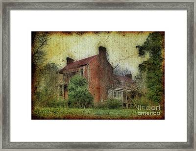 Madison Heights Mansion Framed Print by Sari Sauls