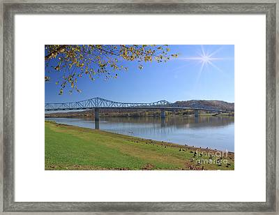 Madison, Indiana Bridge  Framed Print