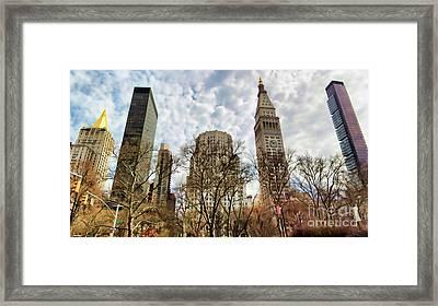 Madison Square Architecture  Framed Print