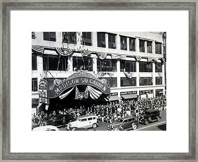 Madison Square Garden, September 20th Framed Print