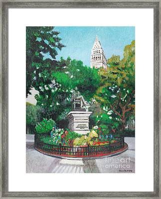 Madison Square Park Framed Print by Deanna Yildiz