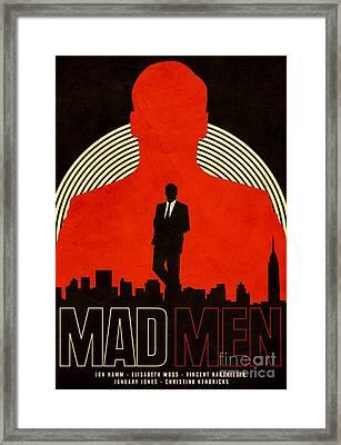 Madmen Framed Print by Blackwater Studio