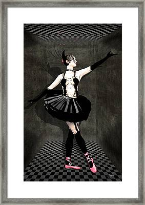 Madness Framed Print by Quim Abella
