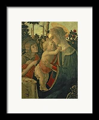 St John The Baptist Framed Prints