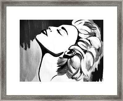 Madonna Framed Print by Cat Jackson