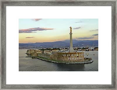 Madonna Della Lettera Framed Print