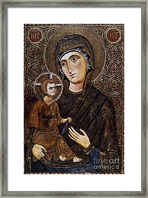 Madonna Icon Framed Print