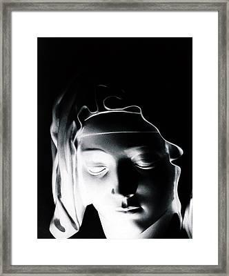 Madonna Framed Print by Joseph Frank Baraba