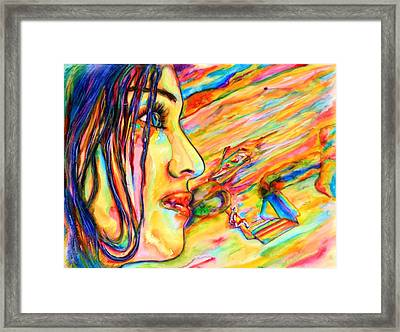 Madonna Framed Print by Joseph Lawrence Vasile