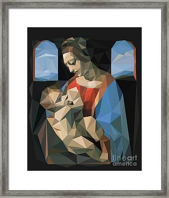 Madonna Litta Framed Print by Igor Kislev